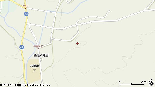 大分県玖珠郡玖珠町太田2363周辺の地図
