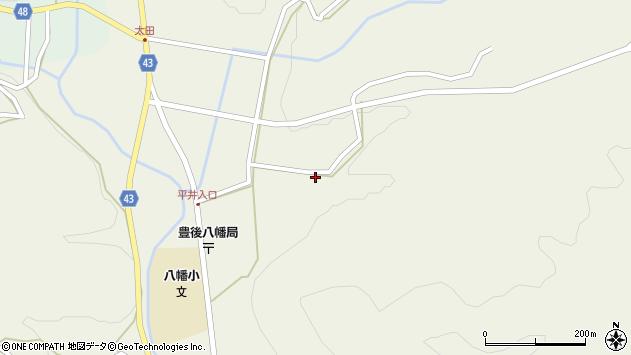 大分県玖珠郡玖珠町太田2241周辺の地図