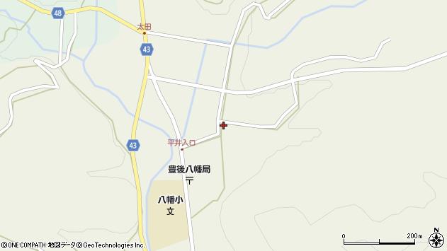 大分県玖珠郡玖珠町太田2249周辺の地図