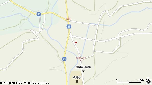 大分県玖珠郡玖珠町太田1477周辺の地図