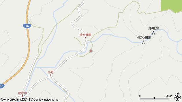 大分県玖珠郡玖珠町森3565周辺の地図