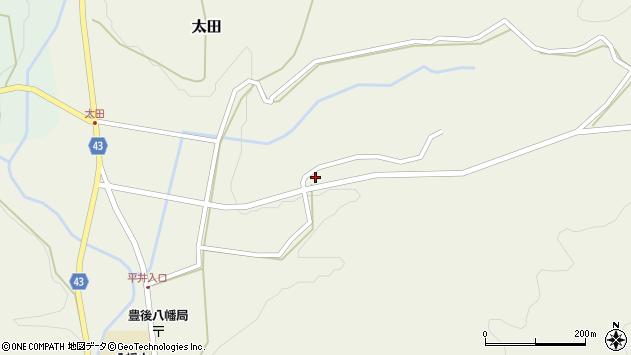 大分県玖珠郡玖珠町太田2196周辺の地図