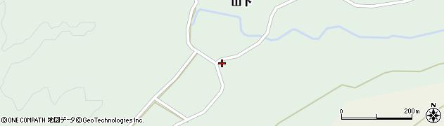 大分県玖珠郡玖珠町山下327周辺の地図