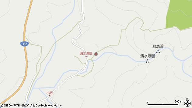 大分県玖珠郡玖珠町森3637周辺の地図