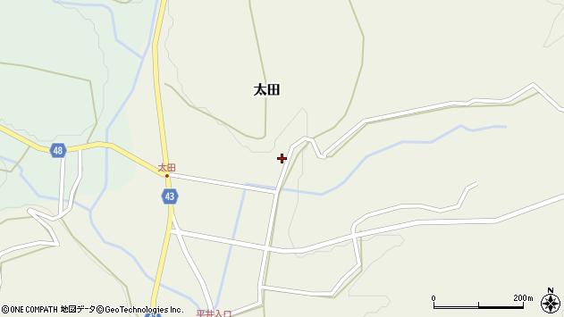 大分県玖珠郡玖珠町太田1631周辺の地図