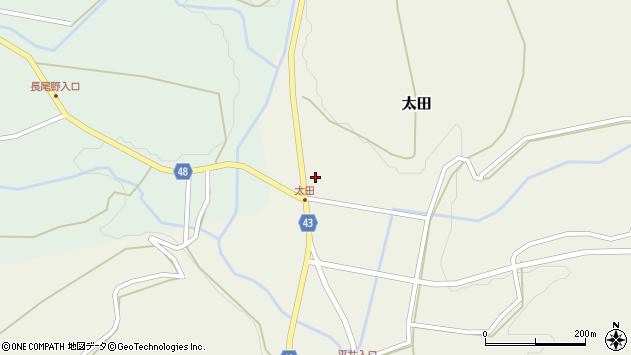 大分県玖珠郡玖珠町太田1539周辺の地図