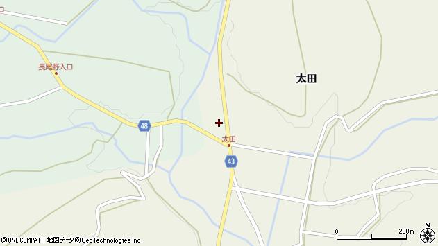 大分県玖珠郡玖珠町太田1538周辺の地図