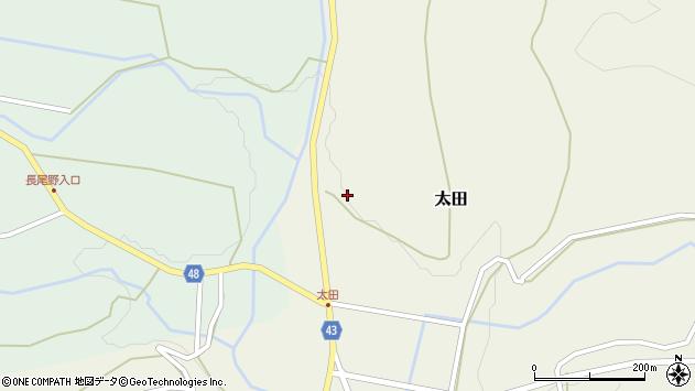 大分県玖珠郡玖珠町太田1563周辺の地図