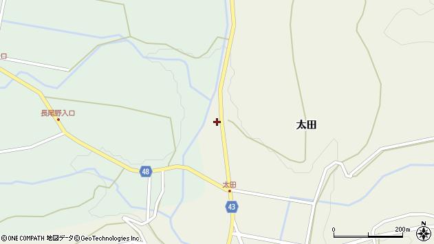 大分県玖珠郡玖珠町太田1535周辺の地図