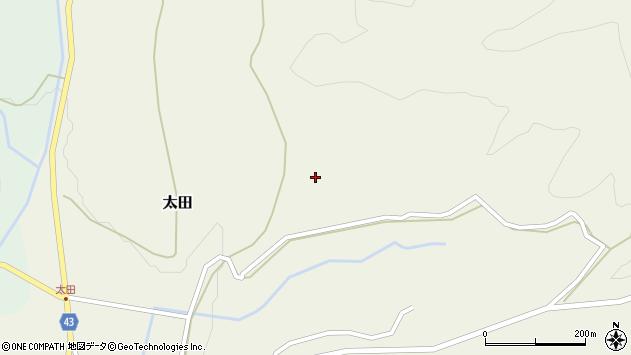 大分県玖珠郡玖珠町太田1802周辺の地図