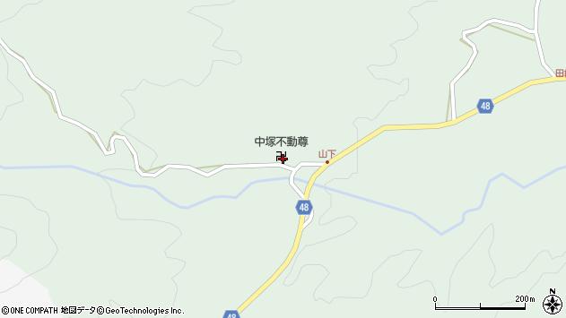 大分県玖珠郡玖珠町山下861周辺の地図