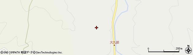 大分県玖珠郡玖珠町森大九郎周辺の地図