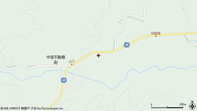 大分県玖珠郡玖珠町山下752周辺の地図