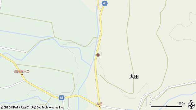 大分県玖珠郡玖珠町太田4137周辺の地図