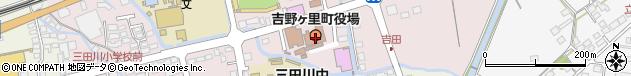 佐賀県神埼郡吉野ヶ里町周辺の地図