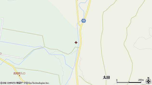 大分県玖珠郡玖珠町山下2188周辺の地図