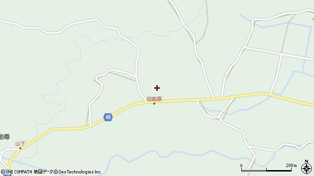 大分県玖珠郡玖珠町山下1374周辺の地図