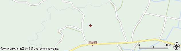 大分県玖珠郡玖珠町山下1349周辺の地図