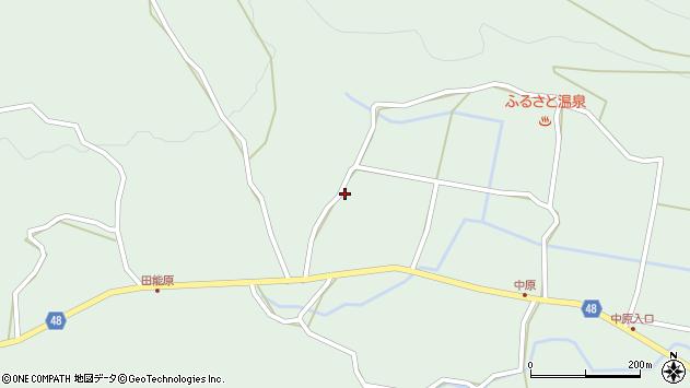 大分県玖珠郡玖珠町山下1621周辺の地図