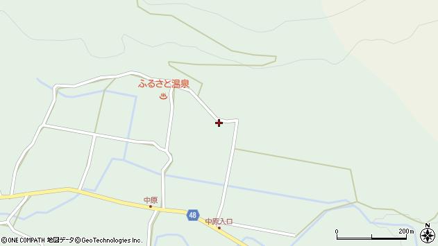 大分県玖珠郡玖珠町山下1902周辺の地図