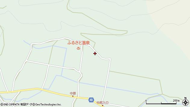 大分県玖珠郡玖珠町山下1870周辺の地図