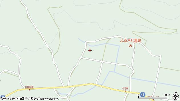 大分県玖珠郡玖珠町山下小原周辺の地図