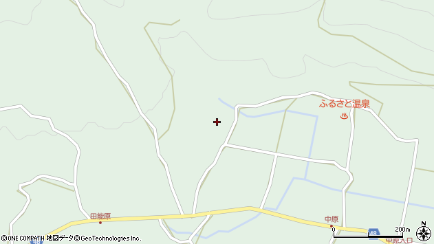 大分県玖珠郡玖珠町山下1643周辺の地図