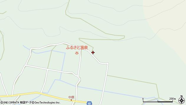 大分県玖珠郡玖珠町山下1890周辺の地図