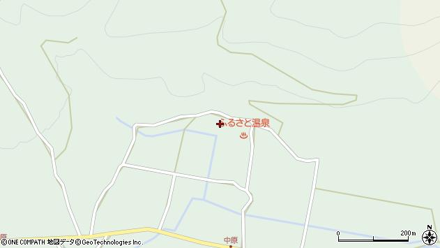 大分県玖珠郡玖珠町山下1843周辺の地図