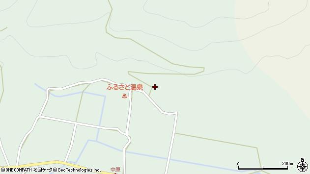 大分県玖珠郡玖珠町山下1895周辺の地図