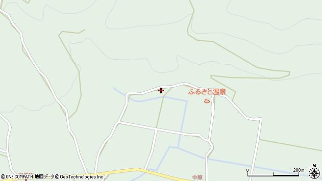 大分県玖珠郡玖珠町山下1563周辺の地図