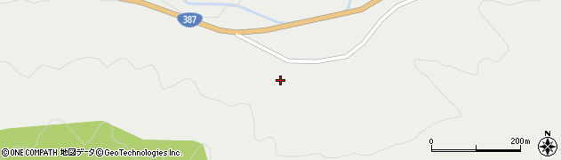 大分県玖珠郡玖珠町森4088周辺の地図
