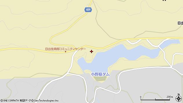 大分県玖珠郡玖珠町日出生987周辺の地図