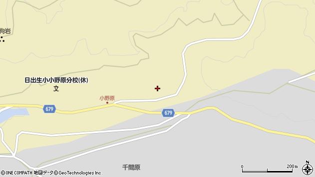 大分県玖珠郡玖珠町日出生937周辺の地図