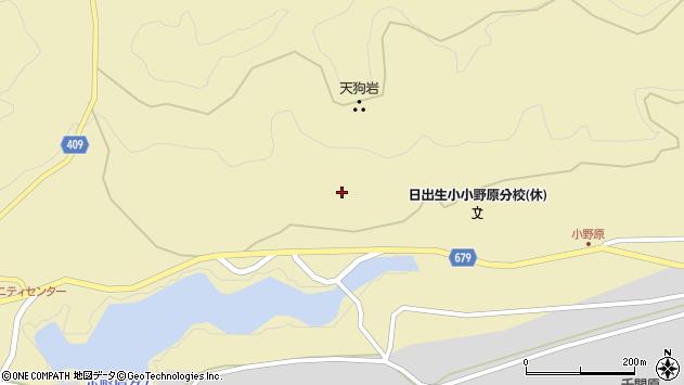大分県玖珠郡玖珠町日出生1670周辺の地図