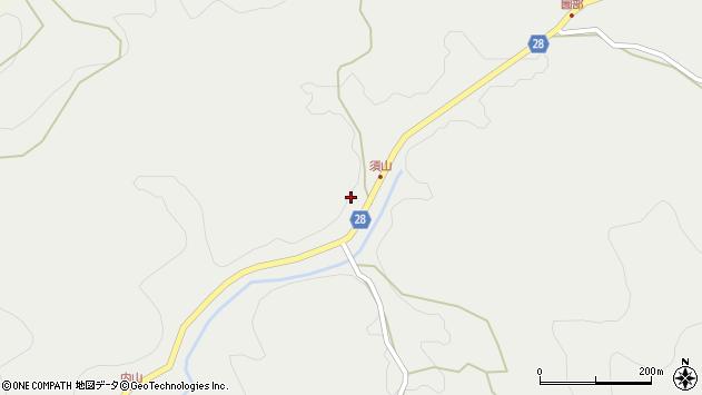 大分県玖珠郡玖珠町森5122周辺の地図