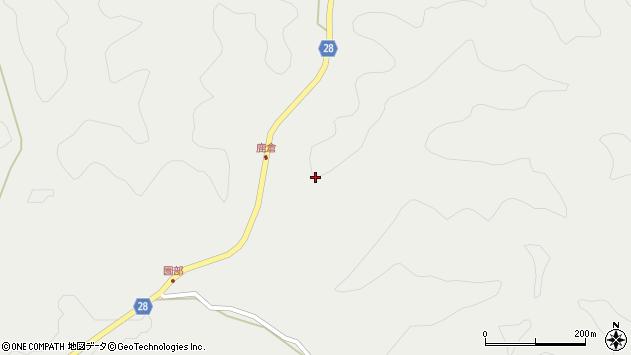 大分県玖珠郡玖珠町森鹿倉周辺の地図
