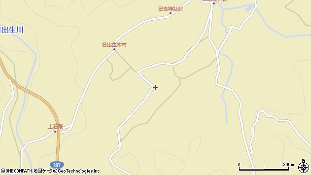 大分県玖珠郡玖珠町日出生2355周辺の地図