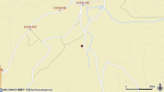 大分県玖珠郡玖珠町日出生2257周辺の地図