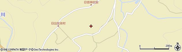 大分県玖珠郡玖珠町日出生2230周辺の地図