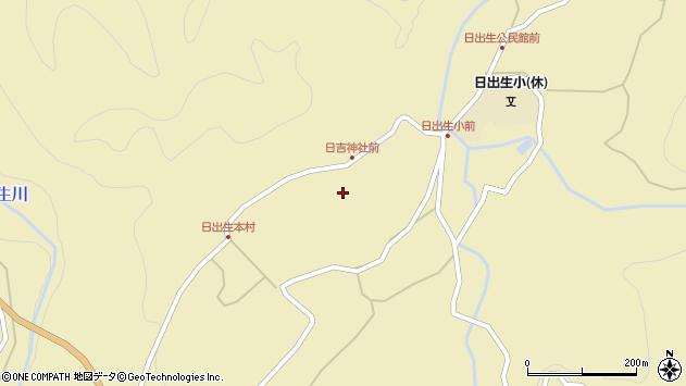 大分県玖珠郡玖珠町日出生2448周辺の地図