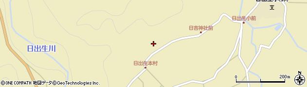 大分県玖珠郡玖珠町日出生2528周辺の地図