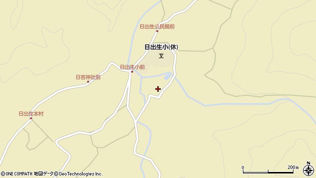 大分県玖珠郡玖珠町日出生2195周辺の地図