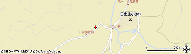 大分県玖珠郡玖珠町日出生2507周辺の地図
