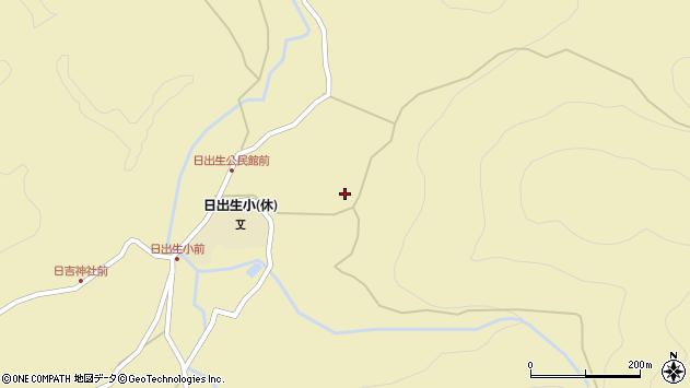 大分県玖珠郡玖珠町日出生2015周辺の地図