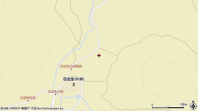 大分県玖珠郡玖珠町日出生1999周辺の地図