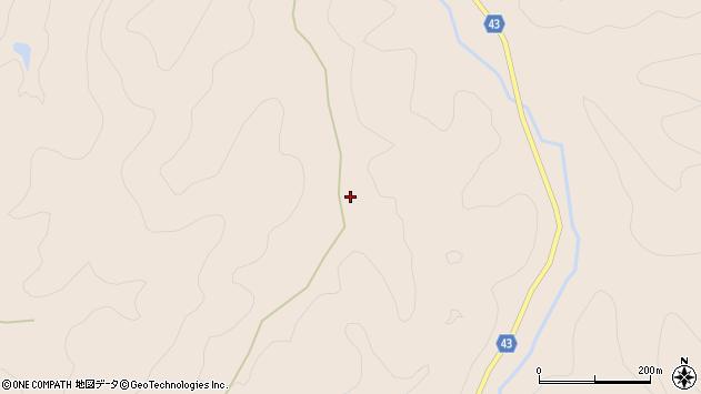 大分県玖珠郡玖珠町古後413周辺の地図