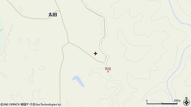 大分県玖珠郡玖珠町太田3065周辺の地図