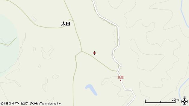 大分県玖珠郡玖珠町太田3106周辺の地図