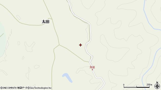 大分県玖珠郡玖珠町太田3108周辺の地図